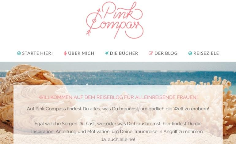 Webtexte analyisieren_Positivbeispiel Pink Compass